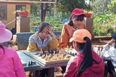 Hoạt động câu lạc bộ năng khiếu trường THCS Nguyễn Du